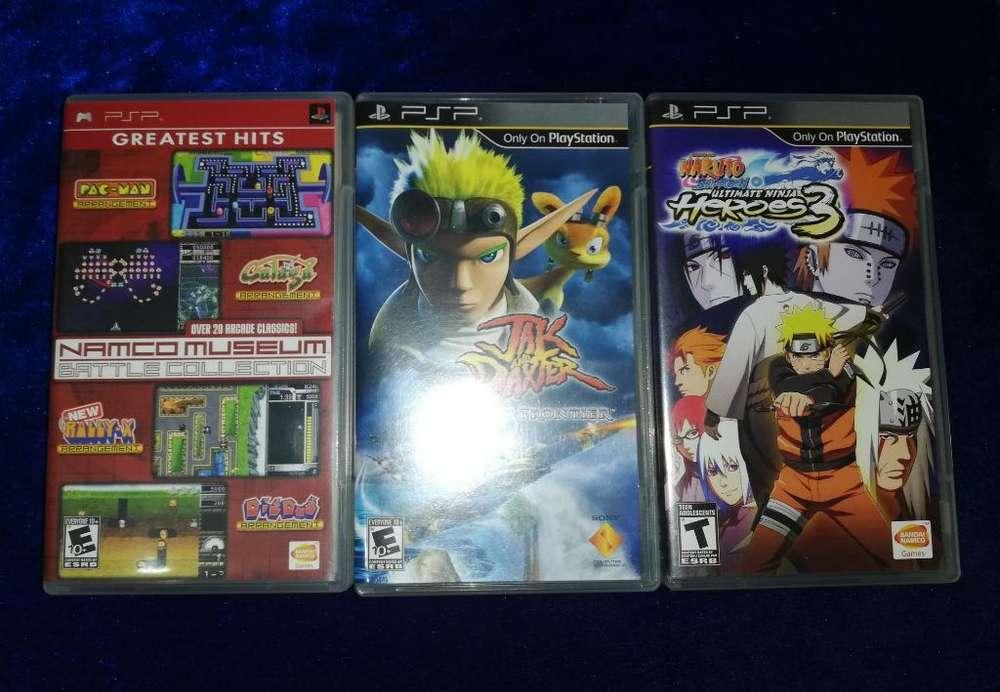 Juegos Originales de Psp, Naruto, Jack