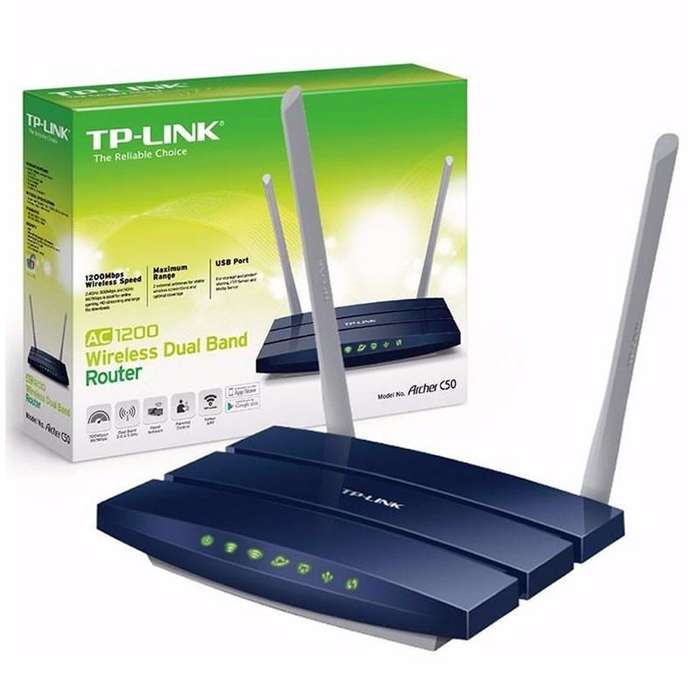 Router Repetidor Archer C50 Dual Band Ac1200 Tplink