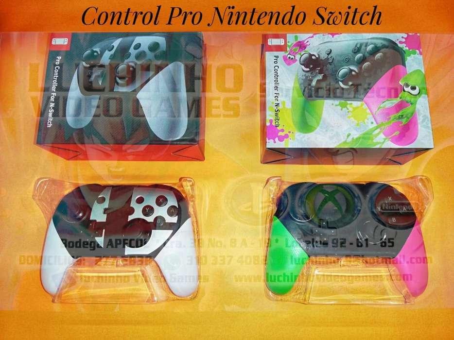 Control Pro Nintendo Switch..