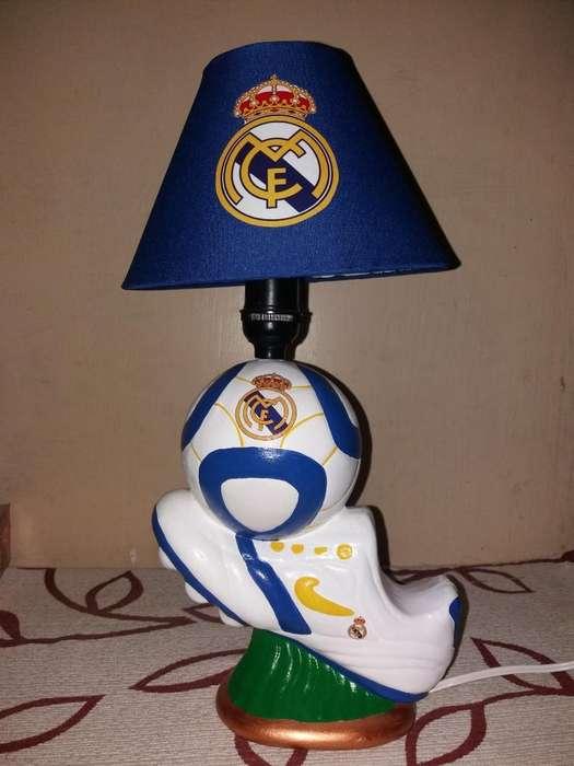 Lámpara Real Madrid
