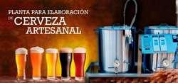 Planta De Cerveza Artesanal. Acero Inox  Entrenamiento