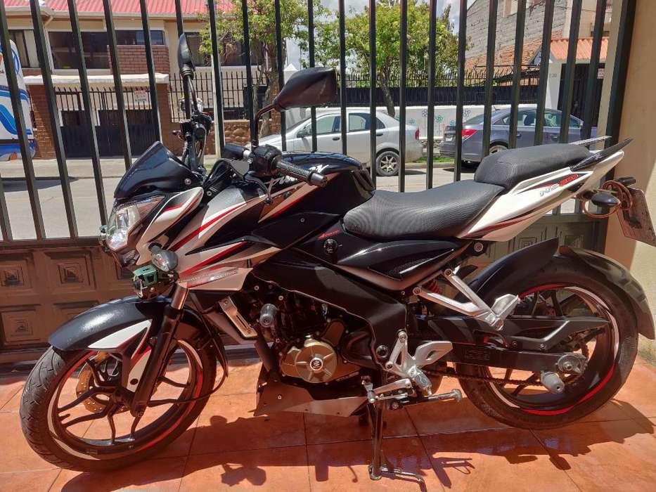 Vendo Pulsar Ns 200 Como <strong>nueva</strong>