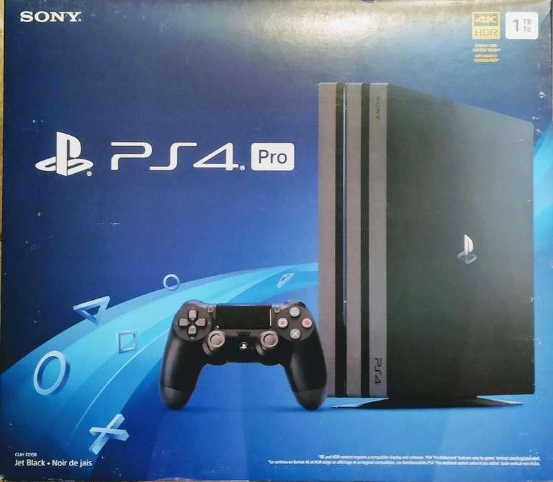 Vendo Play 4 Pro 1tb a 32.000