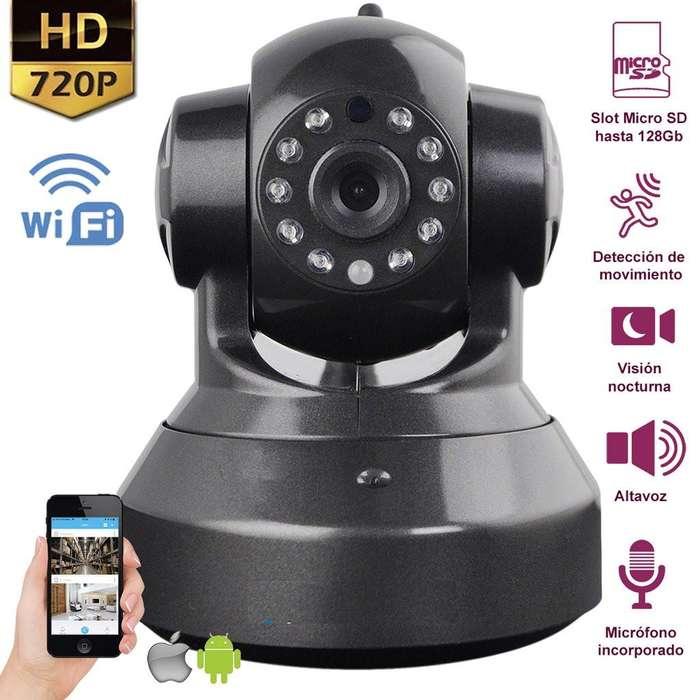 Camara de seguridad Ip Inalambrica Wifi 720p Robotica Pt Onvif Remota