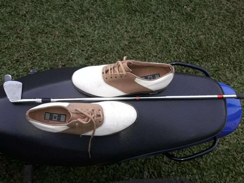 Zapato de Golf Excelente Estado Nike Ori