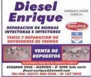 DIESEL ENRIQUE REPARACION DE BOMBAS INYECTORAS