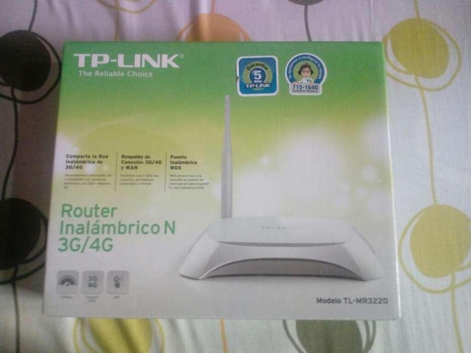 Router Tplink con Puerto Usb Nuevo