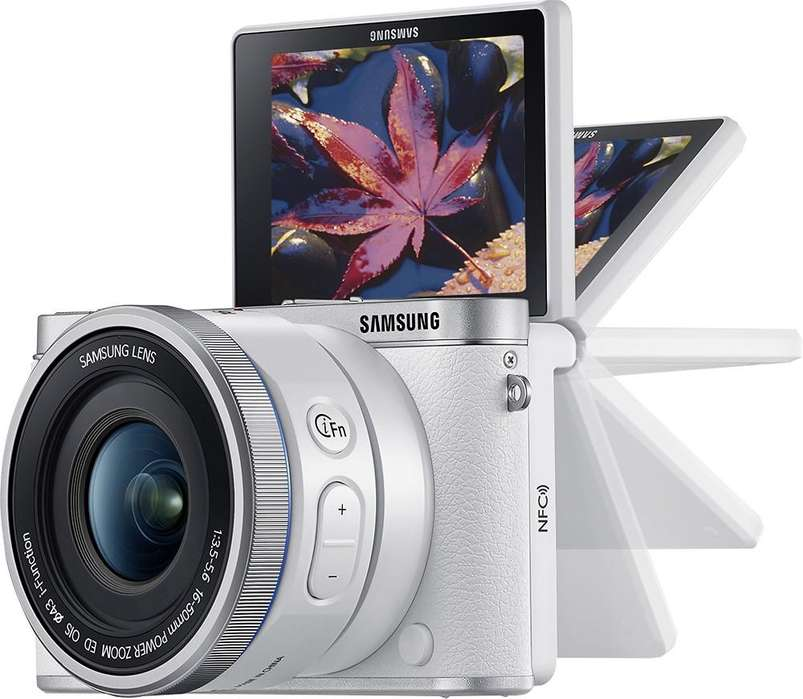 Promo ! Cámara <strong>digital</strong> Sin Espejo Samsung Nx3000 Smart 203mp