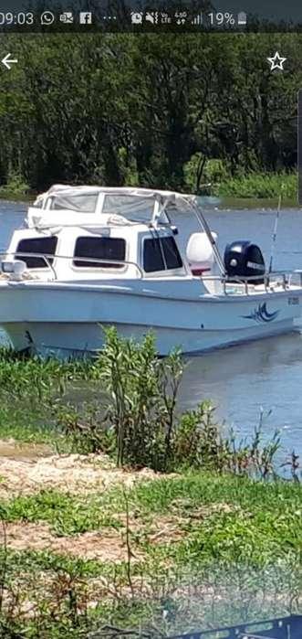 Traker Cabinado 6.40 con Mercury 115 4t