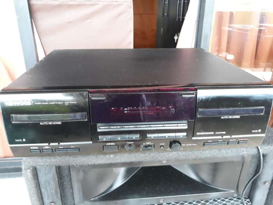 Deck Casetera Kenwood
