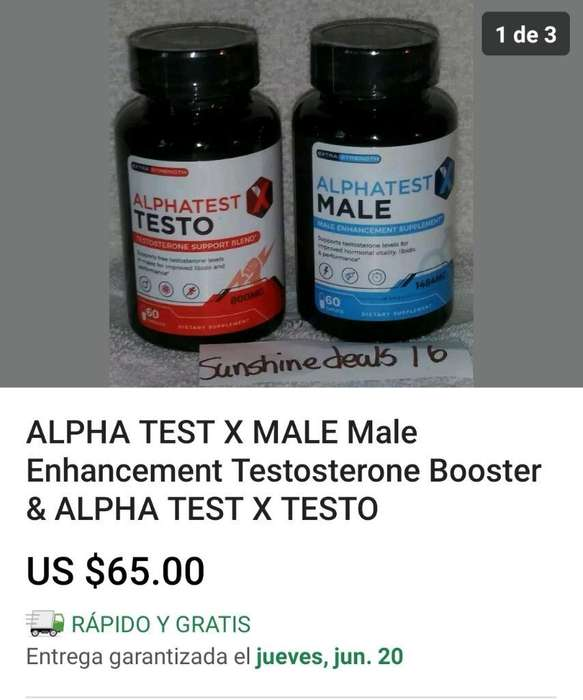 Alpha Test X Male & X Testo