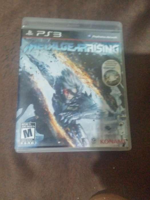 Vendo Metal Gear Rising Revenge Ps3 Usad