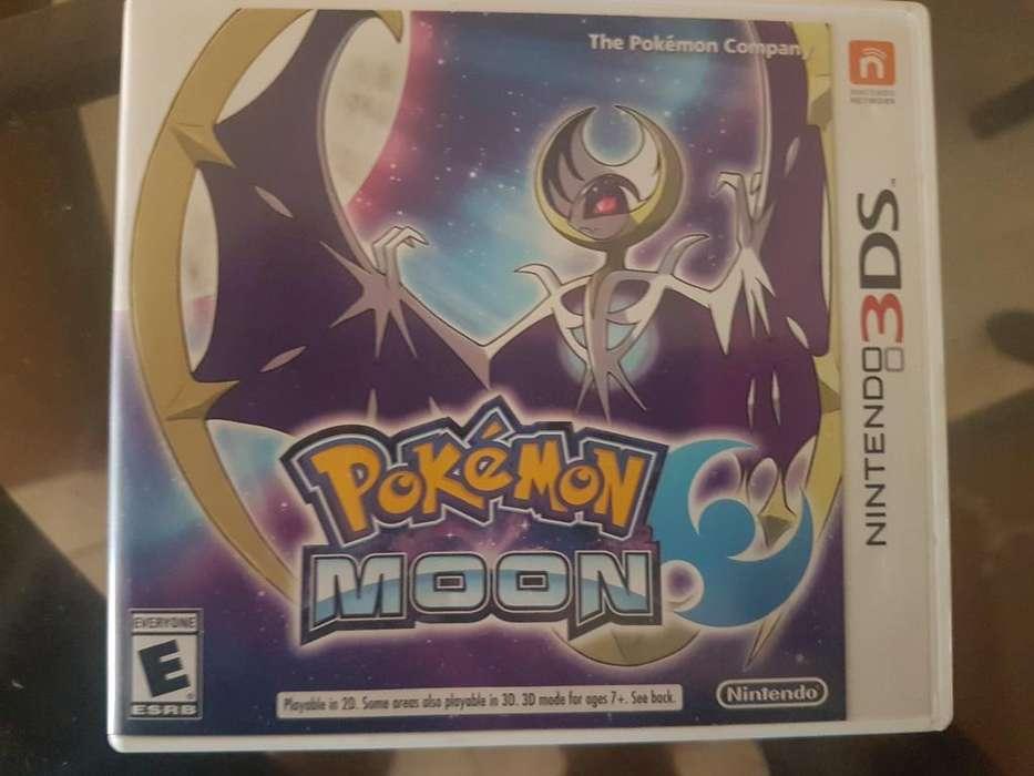 Pokemon Moon Nintendo 3ds