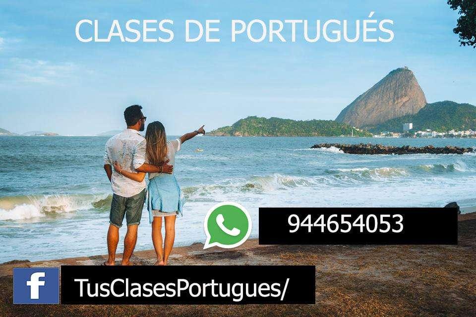 CLASES DE PORTUGUÉS - CUSCO - PROFESORES NATIVOS- DE FORMA PRESENCIAL Y VIRTUAL