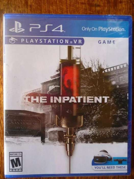 SONY PLAYSTATION 4 PS4 THE INPATIENT PLAYSTATION VR GAME NUEVO