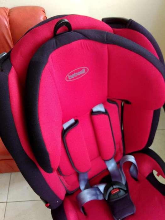 Silla Bebé para carro, cinturón seguridad de tres puntos, casi sin uso, magnifico precio
