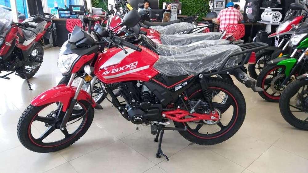 Moto axxo urban 150 mecánica 2019 unico en stock