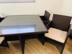 Mesa Comedor Interior Exterior Ratan