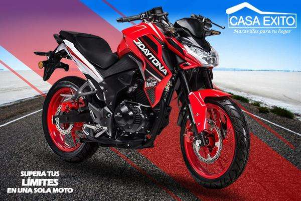 Moto Daytona Wolf Dy200 200cc Año 2019 Color Na/ne/ro Casa Éxito