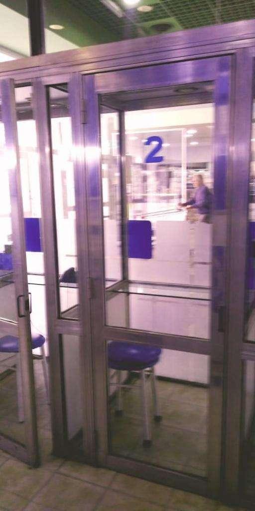 Cabinas Telefoniocas de Aluminio