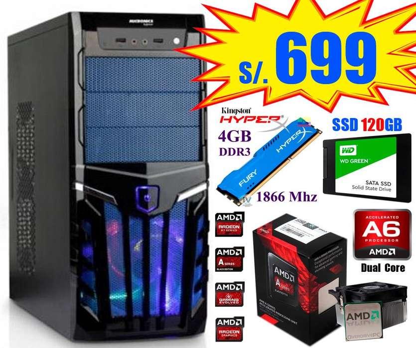 CPUs y PCs para Cabinas de Internet y Oficinas Todo Nuevo
