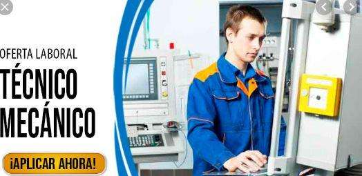Oferta Laboral para Técnico en Mecánica