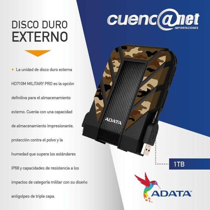 DISCO DURO EXTERNO 1TB 2.5 3.0 HD710MP MILITARY PRO ADATA