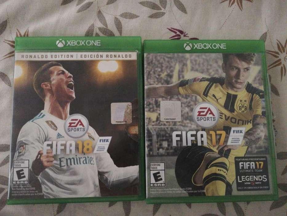 FIFA 17 Y 18 XBOX ONE
