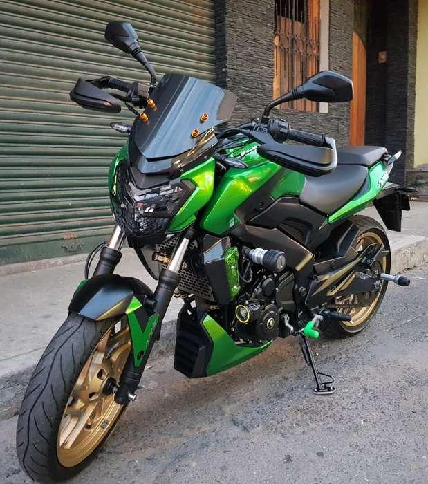 Vendo Moto Dominar 400cc