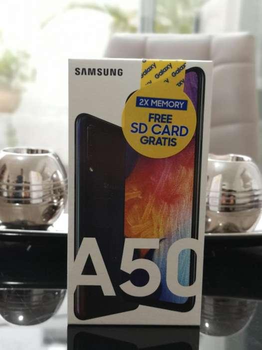 Samsung A50 64gb Totalmente nuevo