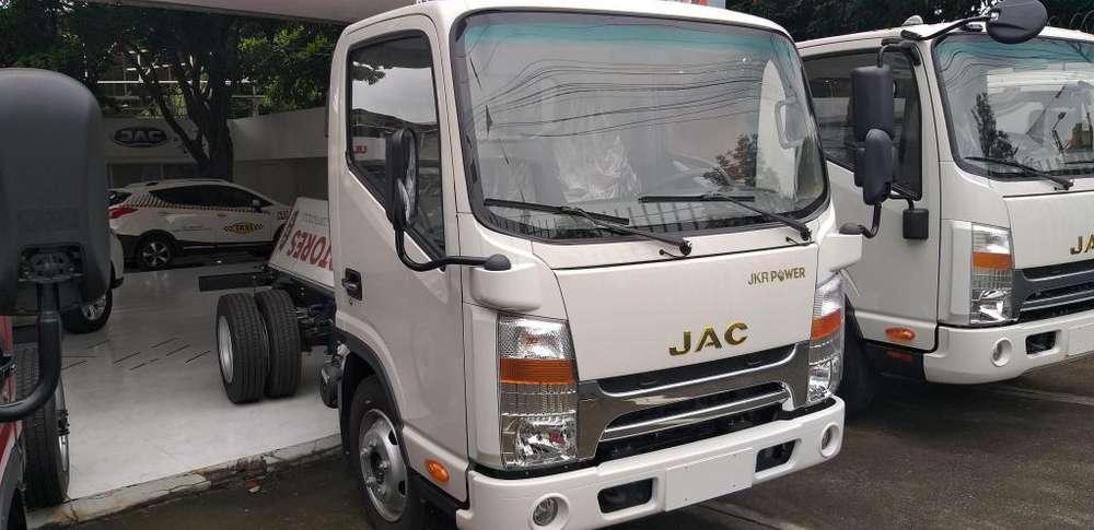 Nuevo Jac JKR 1040 para tres toneladas