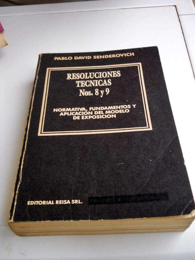 Libro Resoluciones Tecnicas Nos 8 Y 9 / Pablo David Sender