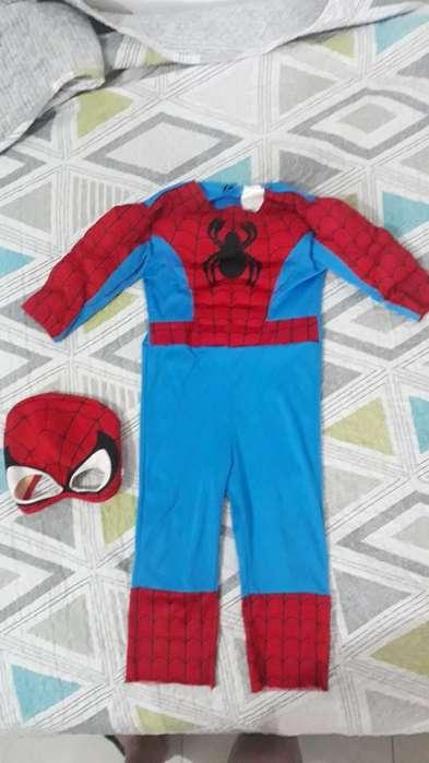 Disfraz Spiderman Talla 2