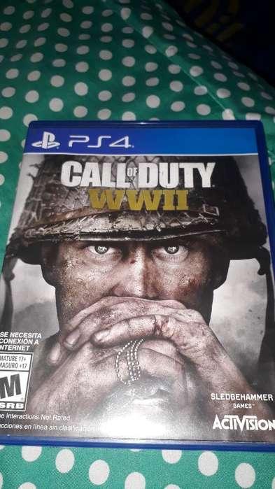 Vendo Callnof Duty Ww2