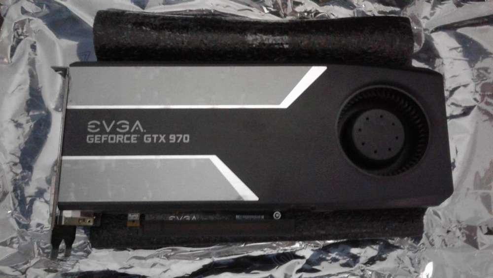 GPU tarjeta de video Nvidia GEFORCE GTX 970