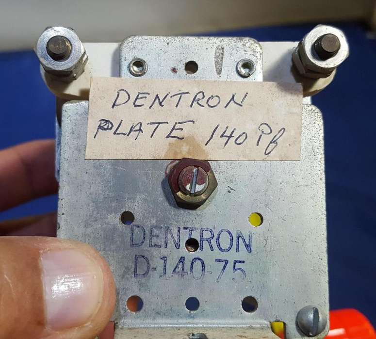 Dentron High Power Variable Tuning Capacitor Condenser D140 75