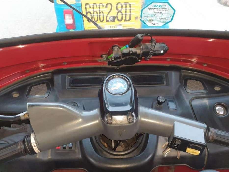 Mototaxi Tvs Año 2013 Dual Glp SJM