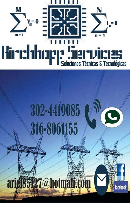 MANTENIMIENTO, REPARACIÓN E INSTALACIÓN DE PLANTAS ELÉCTRICAS (Generadores eléctricos) - KIRCHHOFF SERVICES