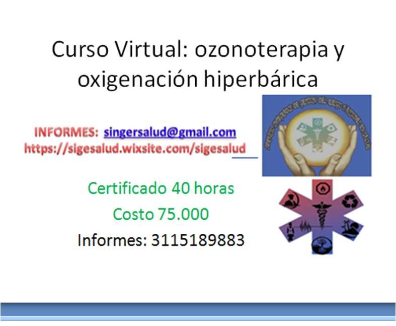 75.000 curso virtual ozonoterapia y oxigenación hiperbárica