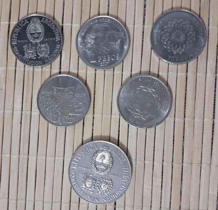 Monedas Conmemorativas Argentinas