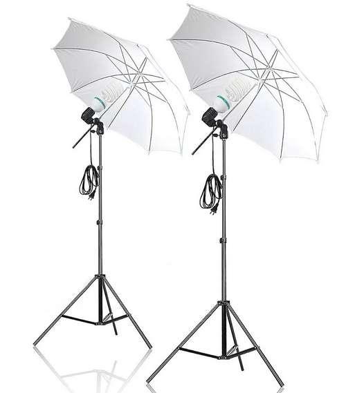 Kit De Luces Para <strong>estudio</strong> De Fotografía Combo X2