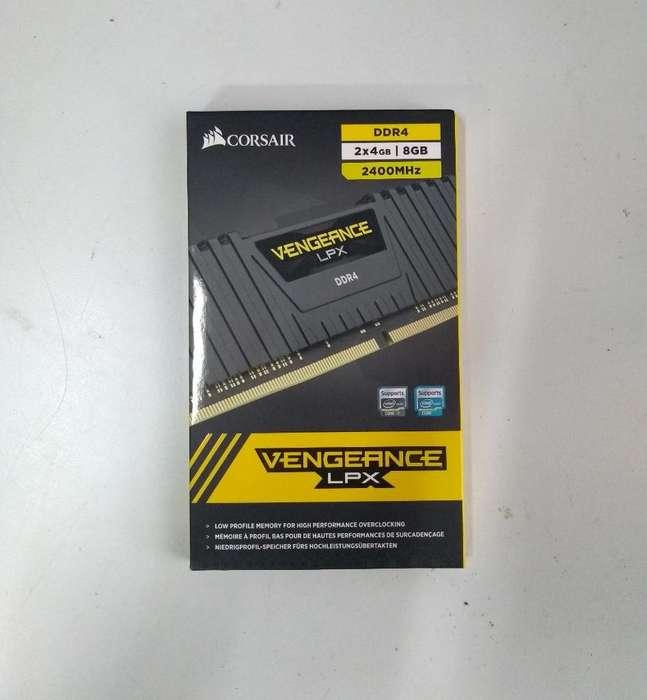 Kit Memoria Ram Corsair Ddr4 2x4gb