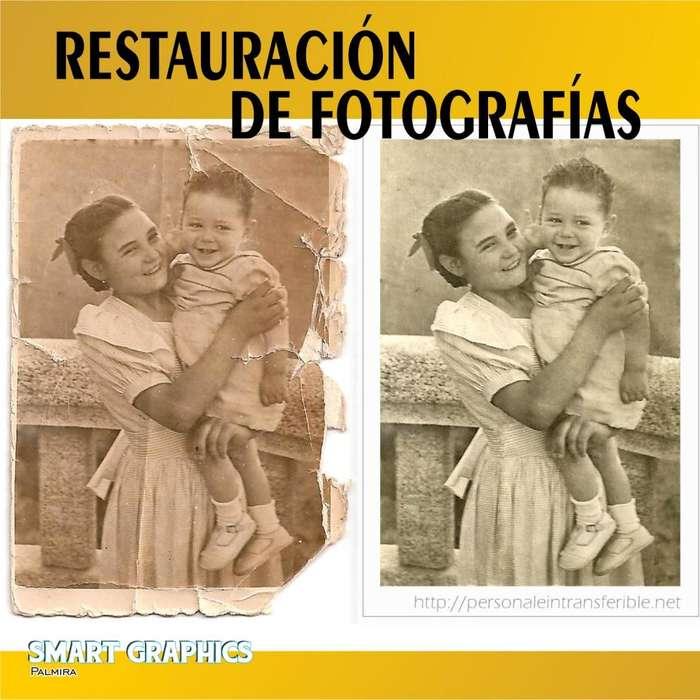 RESTAURACION DE FOTOGRAFIAS RETOQUE PHOTOSHOP DISEÑO GRAFICO PUBLICIDAD PALMIRA CALI FOTOGRAFIA