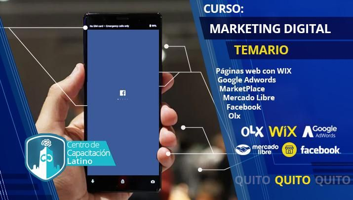 MARKETING DIGITAL. CURSO. QUITO. APRENDE