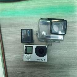 Camara Gopro Hero 4 12 Mpx 4K U HD Pantalla Tactil