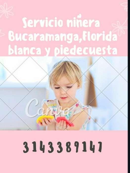 Niñera Bucaramanga,florida Y Piedecuesta