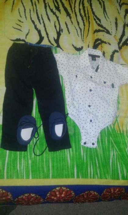 Camisa Pantalon Talle 2 Y Zapatos Nro 18