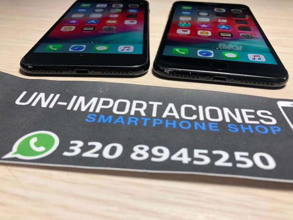 iPhone 7 PLUS 128gb JET BLACK, NO CAMBIOS