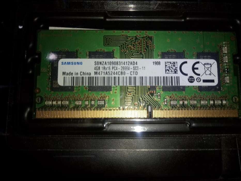 Memoria Ram Laptop 4gb Ddr4 2666