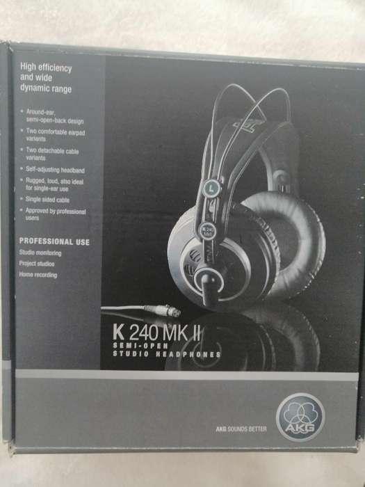Audífonos para Producción Akg K240 Mkii